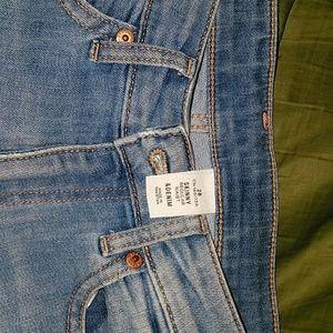 H&M denim jeans regular waist